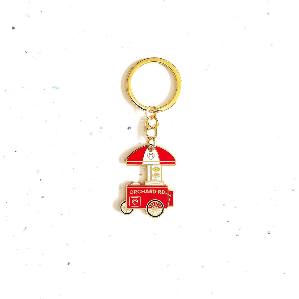 Key Chain - Orchard Road Ice Cream Truck - HYGGE