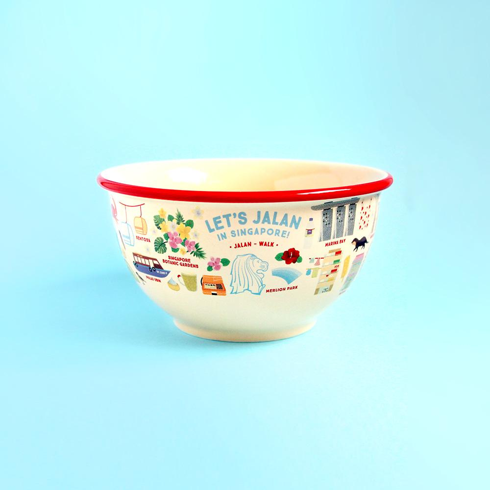 Ceramic Bowl - Let's Jalan In Singapore - HYGGE