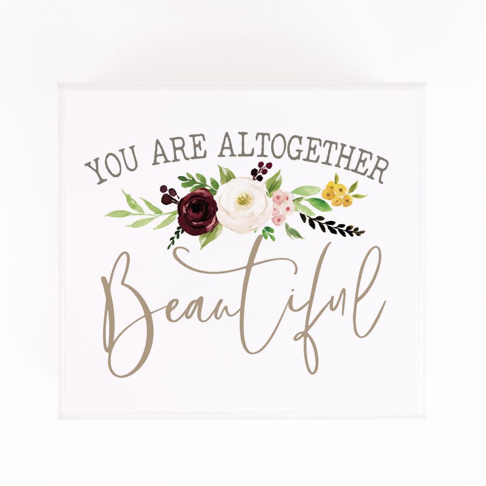You Are Altogether Beautiful Jewelry Box