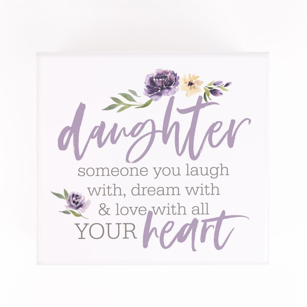 Daughter Someone You Laugh With Jewelry Box