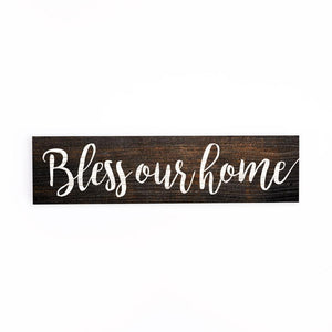 Bless Our Home Little Sign - HYGGE