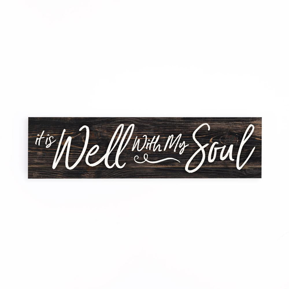 It Is Well With My Soul Little Sign - HYGGE