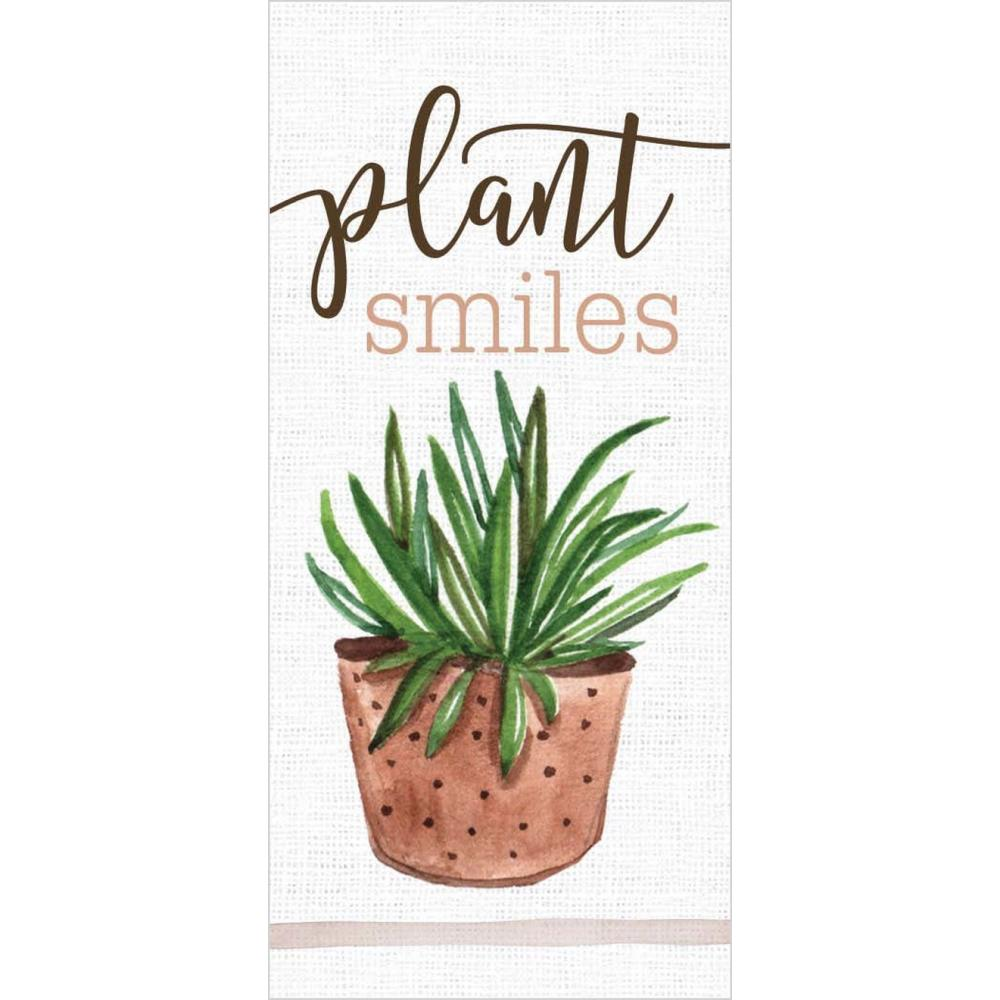 Plant Smiles Word Block - HYGGE