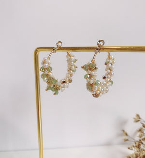 Tina Hoop Earrings - HYGGE