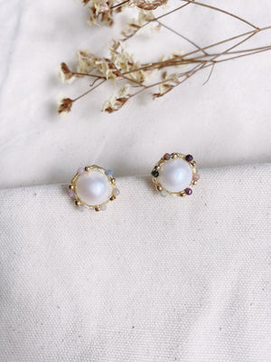 Phyllis Stud Earrings - HYGGE