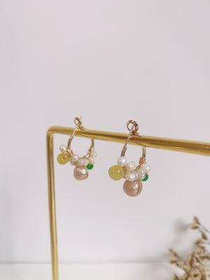 Verron Hoop Earrings - HYGGE