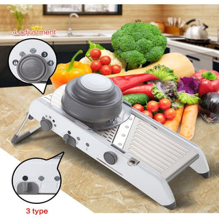 Adjustable Stainless Steel Mandoline Slicer