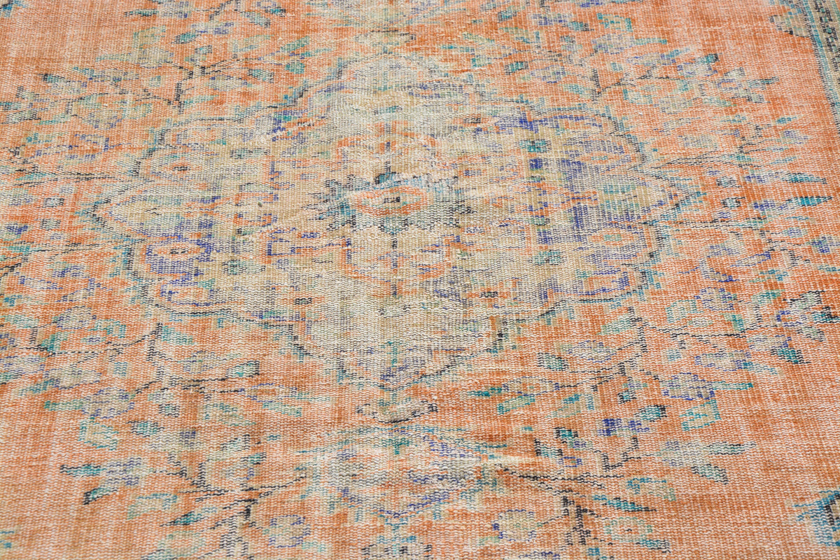 Turkish Oriental Rug, Wool Turkish Rug, Oriental Weavers Rugs, 6x9 Rug, Modern Rugs, Turkish Rug Antique,             5.9 x 9.1  Feet AG1036