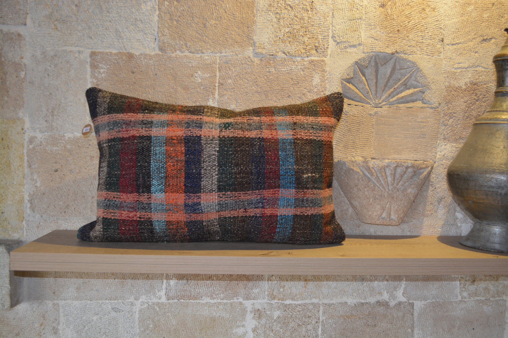 "Moroccan Handmade Cushion,  Boujaad Cushion,  Berber Moroccan Cushion, Moroccan Cushion,        16""x24"" - EA232"