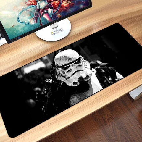 31.5inx11.8in Large  Rubber Star Wars Gaming Mouse Pad