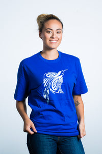 Womens T-Shirt Blue
