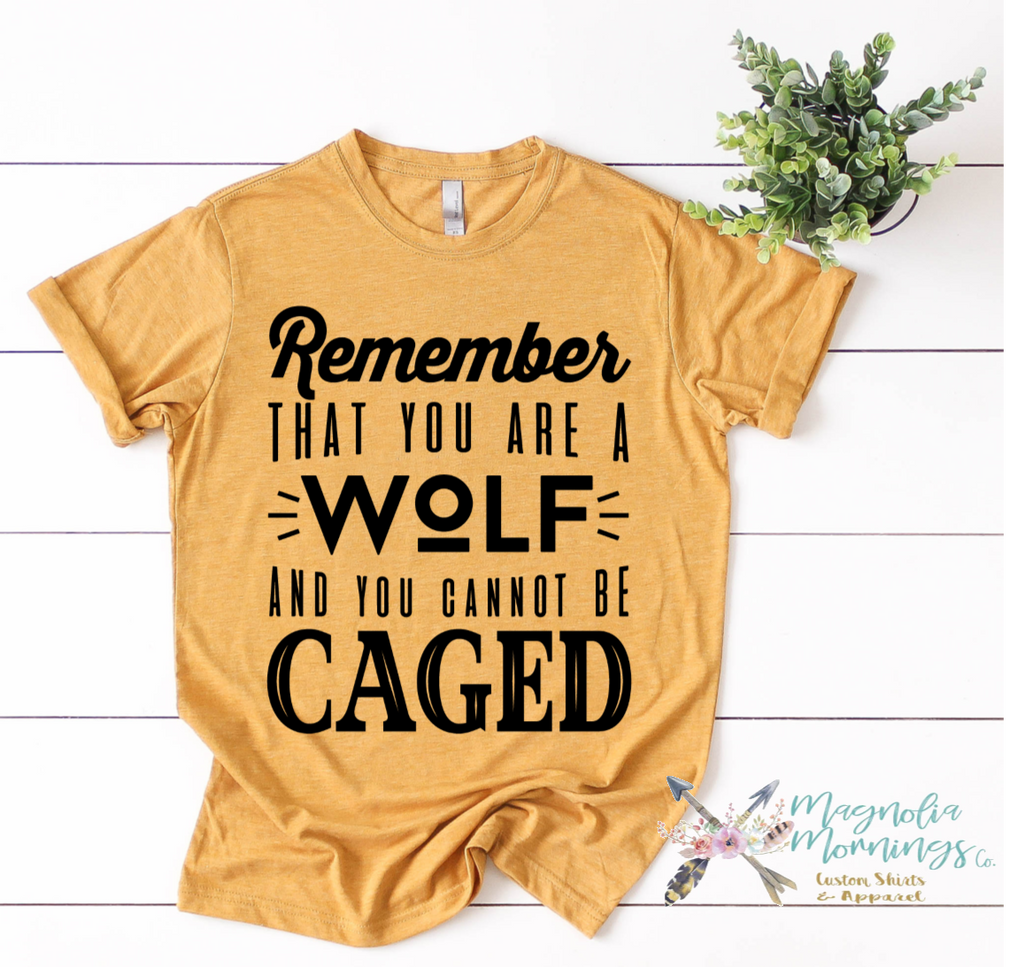 A Wolf That Cannot Be Caged