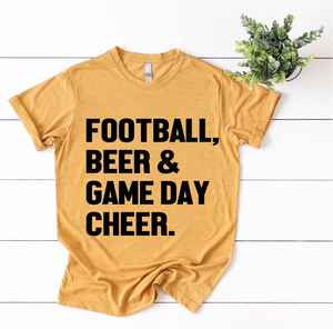Football, Beer & Game Day Cheer