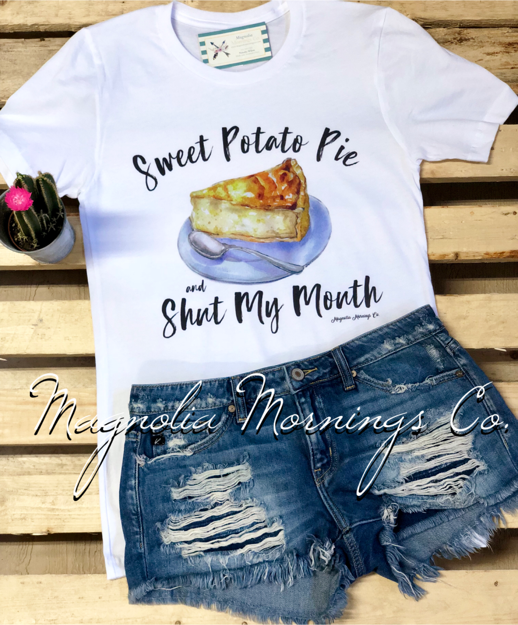 Sweet Potato Pie & Shut My Mouth