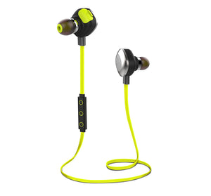 Boat Rockerz 250 In-Ear Wireless Headphones (Lime)