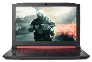 Acer Nitro AN515-51 15.6 Inches Notebook (Intel Core i7-7700HQ/16GB RAM/1TB HDD with 128 GB SSD/NVidia GeForce GTX 1050Ti with 4GB Dedicated GDDR5/Linux), Black