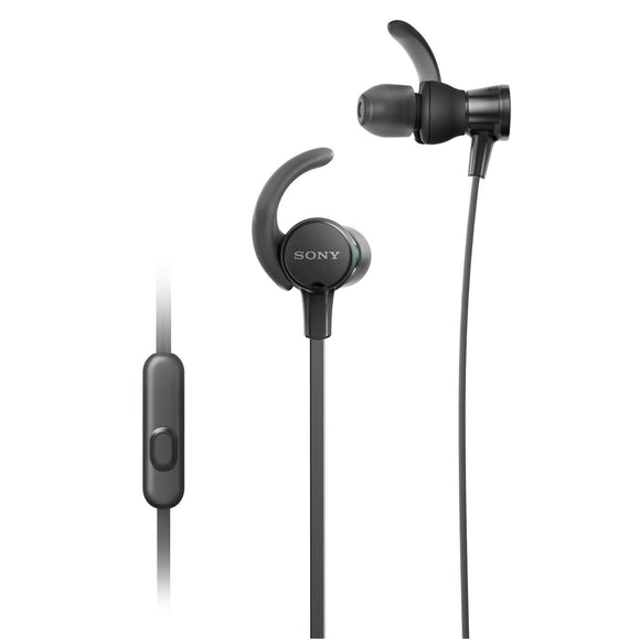 Sony Extra Bass MDR-XB510AS In-Ear Sports Headphones With Mic (Black)