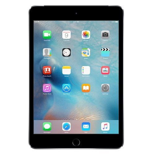 Apple IPad Mini 4 Tablet MK762HN/A (7.9 Inch, 128GB, Wi-Fi+3G) Space Grey