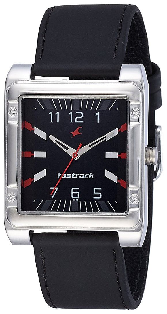 Fastrack Analog Black Dial Men's Watch-3040SL02