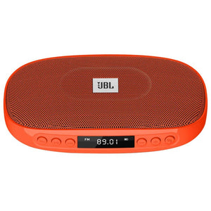 JBL Tune (ORANGE) Wireless Bluetooth Speaker With SD Card Reader / FM And Built-In Microphone