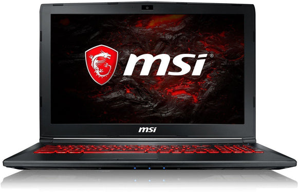 MSI Gaming GL62M 7REX-2068IN 15.6-Inch Laptop (7th Gen Core I7-7700HQ/8GB/128GB SSD+1TB/Windows 10/GeForce GTX 1050 Ti, 4GB Graphics), Black