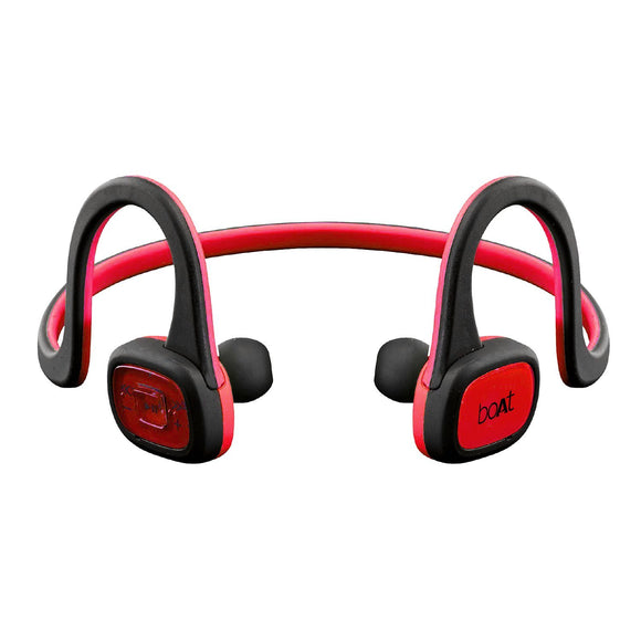 BoAt Rockerz 245 In-Ear Sweat Proof Wireless Sports Running Earphones (Raging Red)