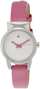 Fastrack Fits and Forms Analog White Dial Women's Watch - 6088SL01