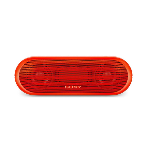 Sony SRS-XB20/RC-IN Portable Bluetooth Speakers (Red)