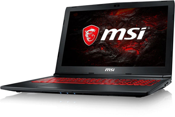 MSI Gaming GL62M 7RDX-2069XIN 15.6-Inch Laptop (7th Gen Core I7-7700HQ/8GB/1TB/DOS/GeForce GTX 1050, 4GB Graphics), Black