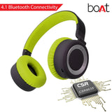 BoAt Rockerz 430 Wireless Bluetooth Headphone (Space Gray/Green)