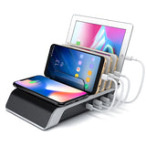 KIDA 2018 4 Port USB Mobile Phone Charging Station Hot Selling