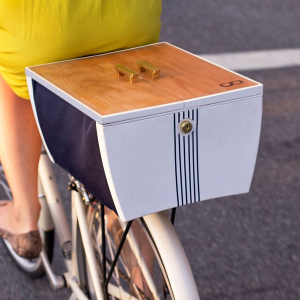 BucaBoot Lockable Bike Basket