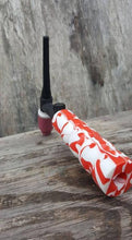 Peppermint-Swirl Acrylic Handle