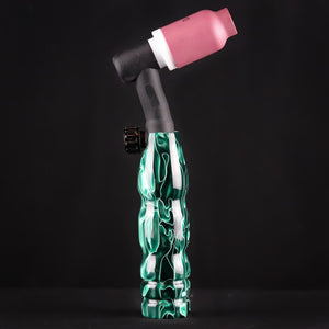 150 amp TIG Torch Acrylic - Green Flows