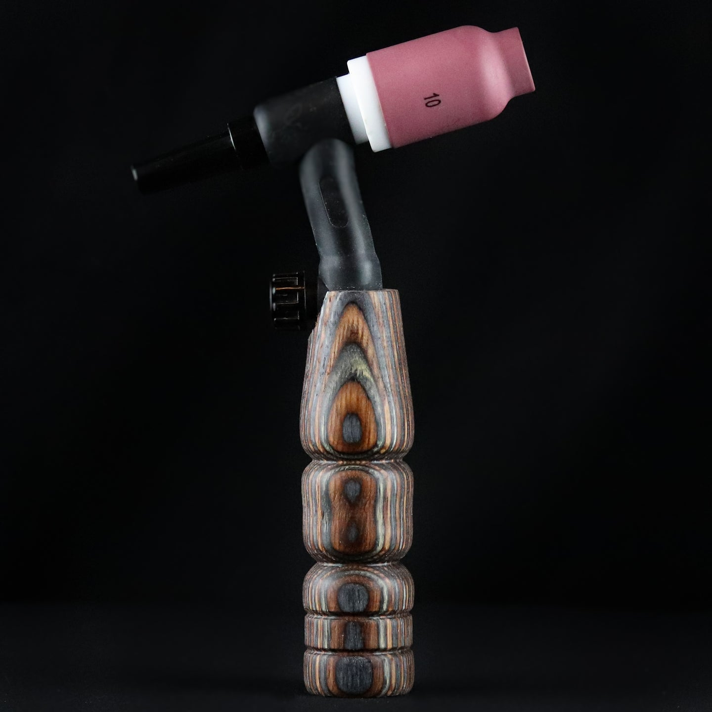 150 amp TIG Torch Wood Handle -Brown and Grey