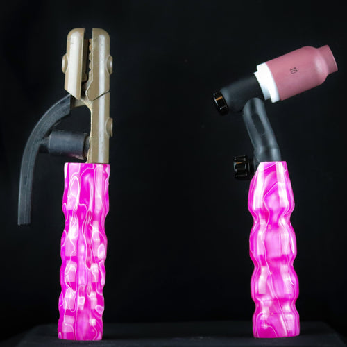 Luscious Pink Acrylic Handle