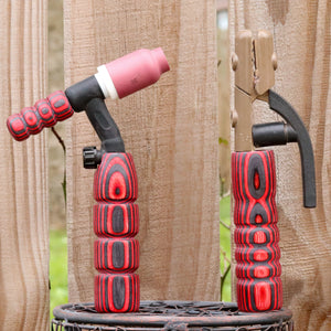 Combo - Stick and 150 amp TIG Torch Wood- Black and Red  with Free Backpcap