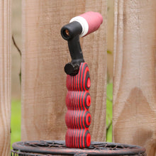 150 amp TIG Torch Wood Handle - Black & Red