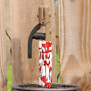 Stick Acrylic Handle- Red Huskers