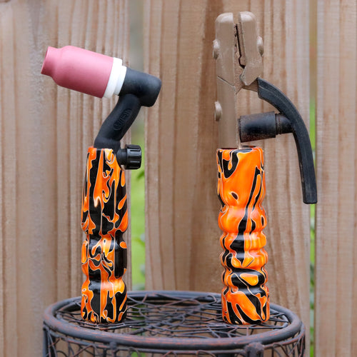 Combo - Stick and 150 amp TIG Torch Acrylic- Hallows Eve