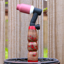 150 amp TIG Torch Handle - Banksia Pod with Red Resin