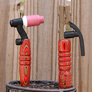Combo - Stick and 150 amp TIG Torch Wood- Red and Gold