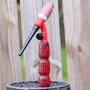 Heavy Hitter 180FV Wood Handle - Black and Red