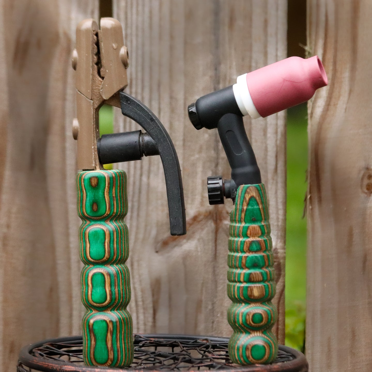 Combo - Stick and 150 amp TIG Torch Wood- Brown and Green