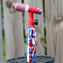 Heavy Hitter 180FV Acrylic Handle -Patriot with Backcap