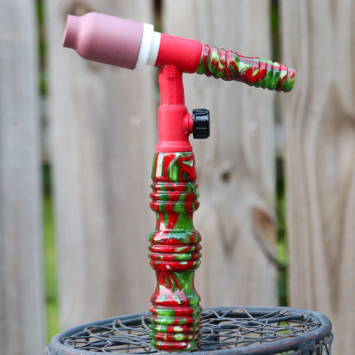Heavy Hitter 180FV Acrylic Handle -Holly Berry with Backcap