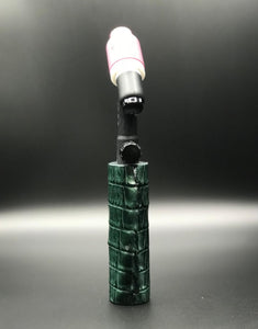 Genuine Caiman Alligator Handle
