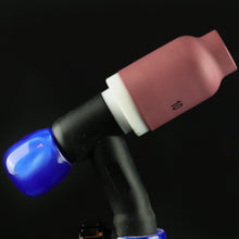 "Cobalt Acrylic TIG Handle and 3/4"" backcap"