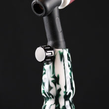 Green Dalmatian Acrylic Handle