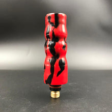 Red and Black Acrylic Back Cap